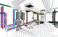 Проектирование + монтаж систем вентиляции и отопления