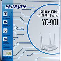 YC-901 Модем 4G 3G LTE WiFi роутер беспроводной 300 мб/с SIM карты СИМ Tele2 Билайн Актив Kcell Altel