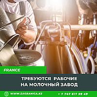 Требуются рабочие на молочный завод / Франция