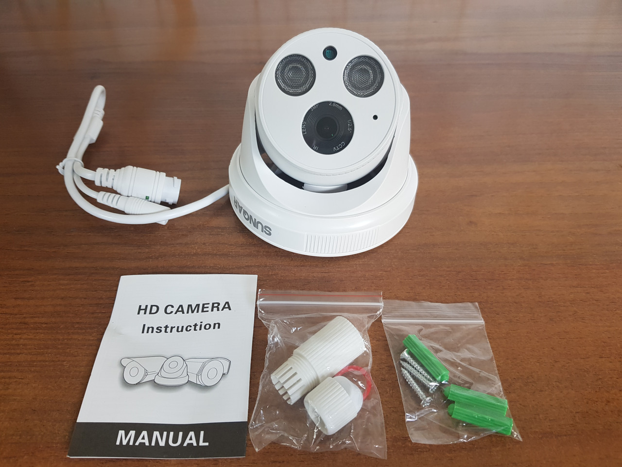 Видеокамера 3MP IP-212 SUNQAR