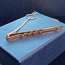 Зажим для галстука / золото