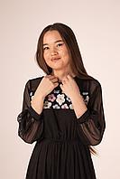 Платье Sensiline 10175 черное с пайетками