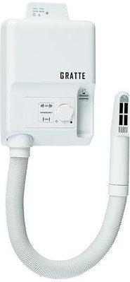 Фен GRATTE PRO HR-800 белый