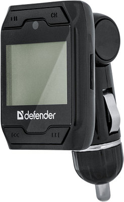 FM-трансмиттер Defender RT-Play черный
