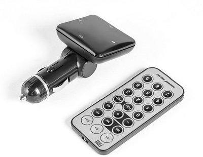 FM-трансмиттер Sound Wave FM09 черный