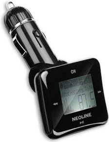 FM-трансмиттер Neoline Bullet FM черный