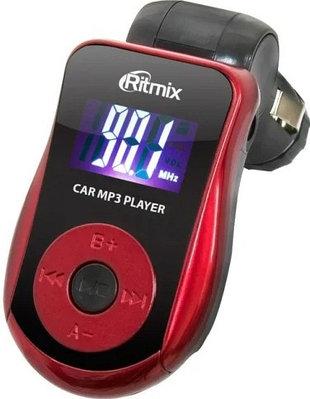 FM-трансмиттер Ritmix FMT-A720 черный-красный
