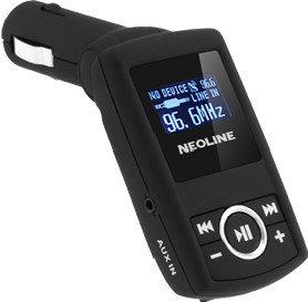 FM-трансмиттер Neoline Splash FM черный