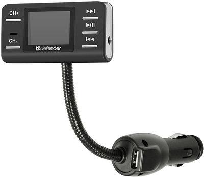FM-трансмиттер Defender RT-Pro черный