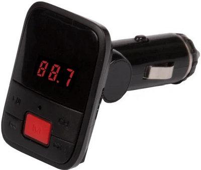 FM-трансмиттер Ritmix FMT-A745 черный
