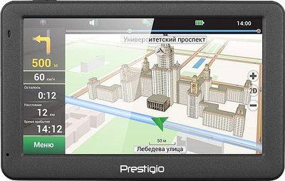 GPS навигатор Prestigio GeoVision 5059 черный