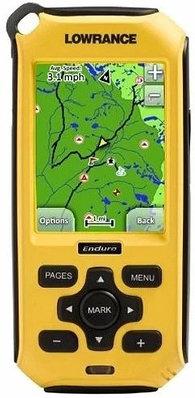 GPS навигатор Lowrance ENDURA Out&Back желтый