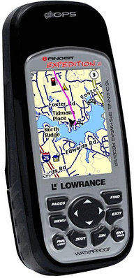 GPS навигатор Lowrance iFINDER Expedition черный