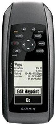GPS навигатор Garmin GPS 73 черный