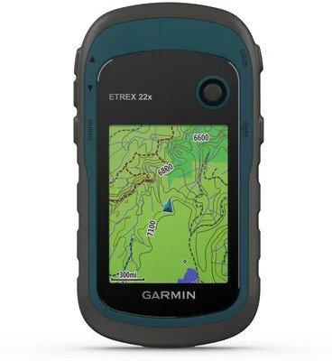 GPS навигатор Garmin eTrex 22x черный-синий