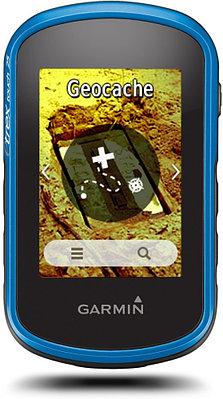 GPS навигатор Garmin eTrex Touch 25 черный-синий