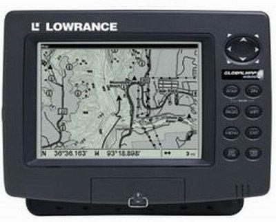 GPS навигатор Lowrance R 44822 GlobalMap 4900M черный