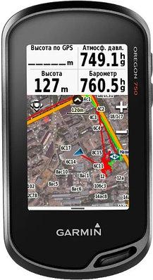 GPS навигатор Garmin Oregon 750 черный
