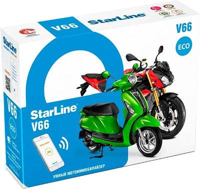 Автосигнализация StarLine Moto V66 Eco