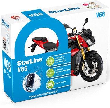 Автосигнализация StarLine V66 Moto