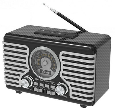 Радиоприемник Ritmix RPR-095 серый