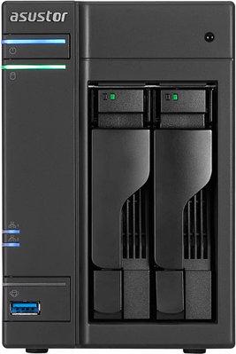 Сетевое хранилище ASUSTOR AS6302T черный