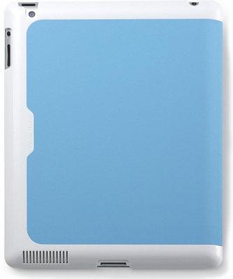 Чехол для планшета Cooler Master Wake Up Folio C-IP3F-SCWU-BW белый-голубой