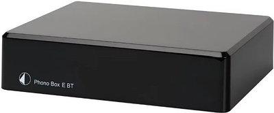 Аудиоусилитель Pro-Ject Phono Box E BT черный