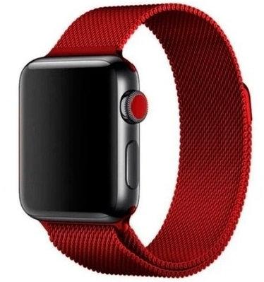 Ремешок A-case для Apple Watch 38mm красный