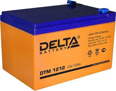 Аккумулятор DELTA DTM 1212 оранжевый