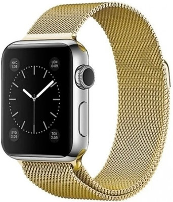 Ремешок A-case для Apple Watch 42mm золотистый
