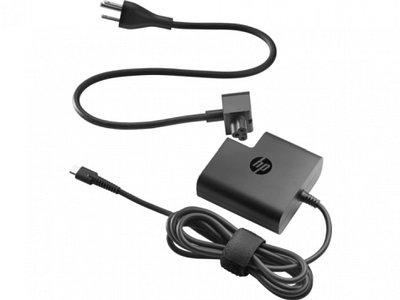 Блок питания HP X7W50AA USB Type-C 65 Вт черный