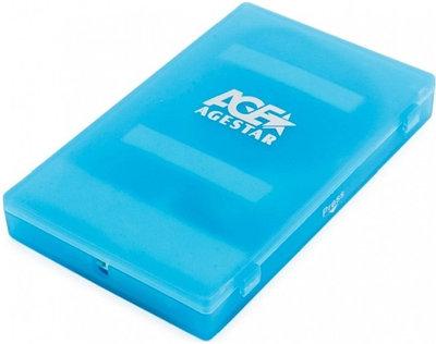 Внешний бокс AGESTAR 3UBCP1-6G синий
