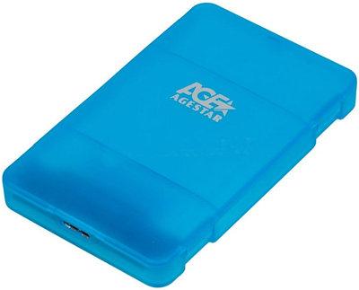 Внешний бокс AGESTAR 3UBCP3-BL синий