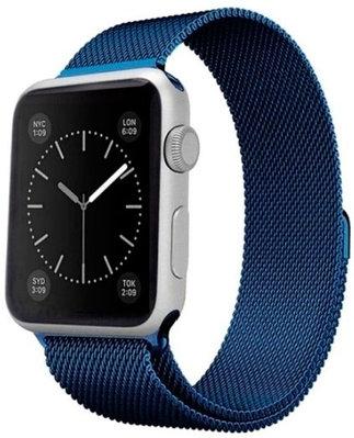 Ремешок A-case для Apple Watch 38mm синий