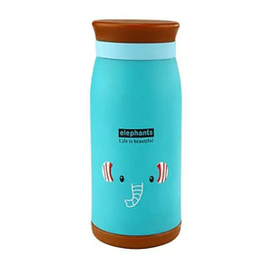 Термос бутылочка 0,5 л Слоник, фото 2