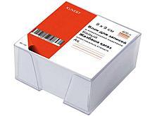 Блок для записей KUVERT в подставке белый 9х9х5 см