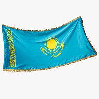 Флаг РК кабинетный 2*1м (габардин)