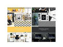 """Блокнот ArtSpace """"Офис. Workspace design"""" на спирали, А4, 80 листов в клетку, твердая подложка"""