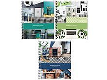 """Тетрадь общая ArtSpace """"Офис. Workspace design"""", А5, 96 листов в клетку, на спирали"""
