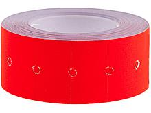 Этикет-ценник, OfficeSpace, 21х12мм, красный, 500 штук в руллоне