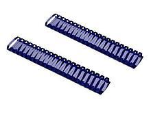 Пружины для переплета пластиковые 38 мм, синие