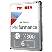 """Жёсткий диск HDD 6 Tb Toshiba X300 HDWR160UZSVA 3.5"""" 7200rpm 256Mb"""