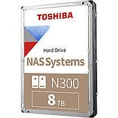 "Жёсткий диск HDD 8 Tb Toshiba N300 HDWG180UZSVA 3.5"" 7200rpm 256Mb"