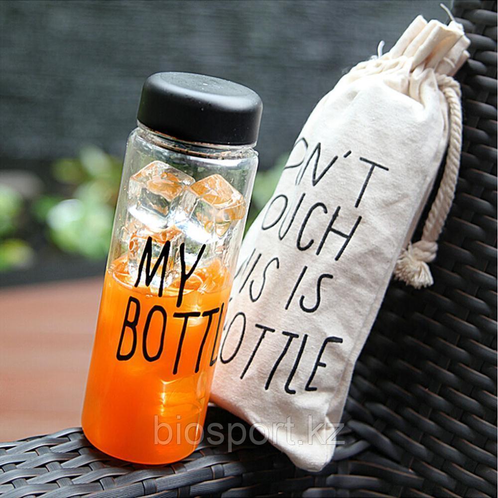 Бутылочка для напитков с чехлом My Bottle 500 мл