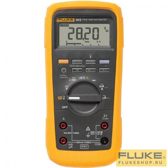 FLUKE 28 II  Мультиметр цифровой (взрывобезопасный)