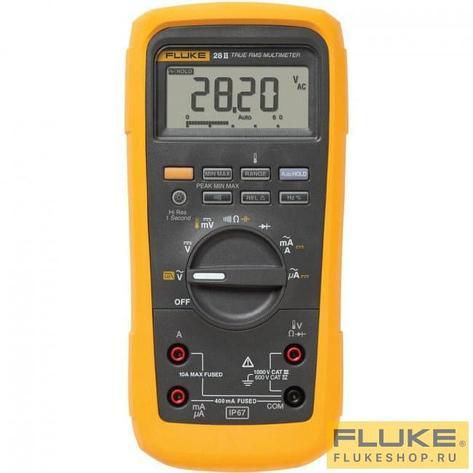FLUKE 28 II  Мультиметр цифровой (взрывобезопасный), фото 2