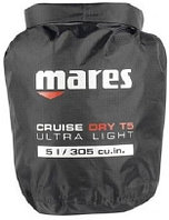 Гермомешок Mares Cruise Dry T-Light 5 л черный