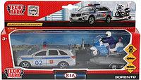 Набор игрушек Технопарк Полиция KIA Sorento Prime SB-18-04WB