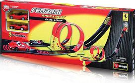Набор игрушек BBurago FERRARI с 2 машинками 1:43 1027652